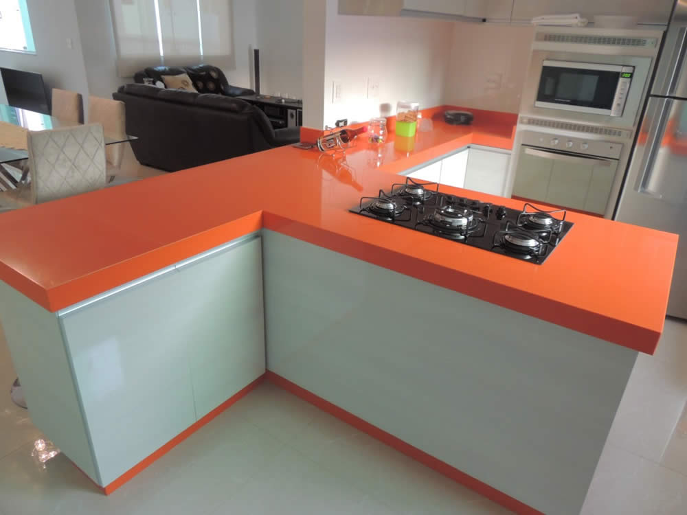 Quartz Pure Orange